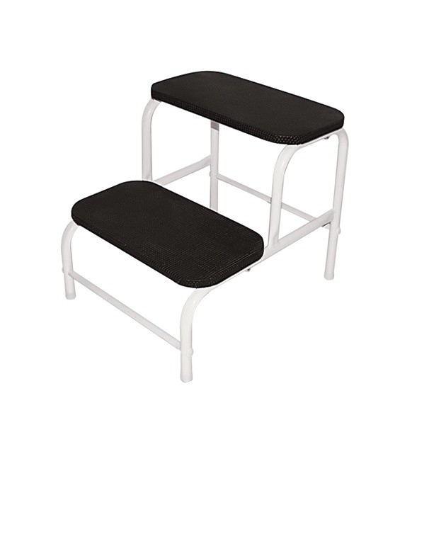 Kit Podologia  Cadeira Mocho Alta Frequência HTM Escada 02 Degraus e Brindes
