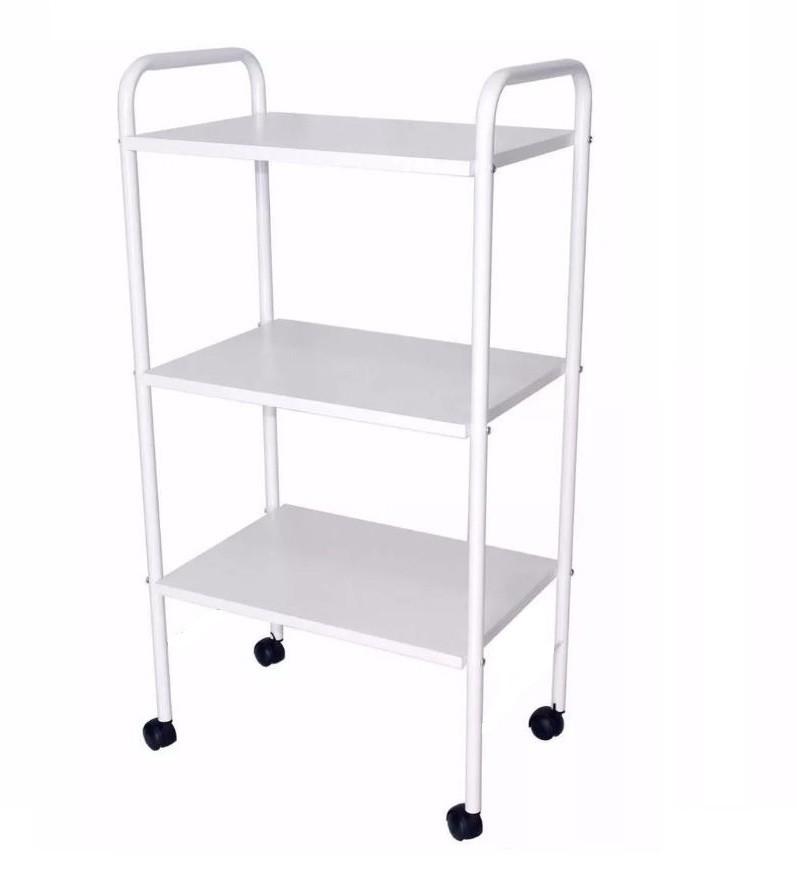 Kit Podologia Cadeira Mocho Exaustor Carrinho Escada e Brindes