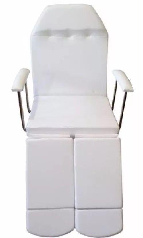 Kit Podologia Cadeira Mocho Exaustor com Luminária Armário 03 Gavetas Brinde