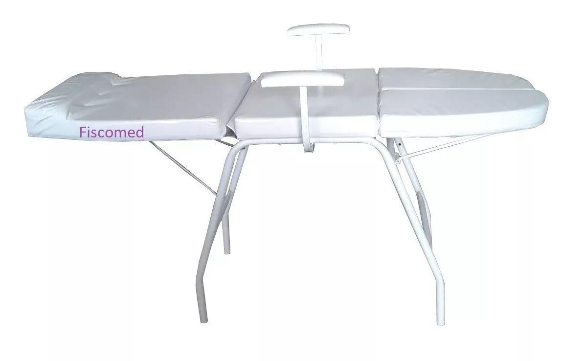 Kit Podologia Cadeira Mocho Luminária com Exaustor Carrinho Brinde Lupa