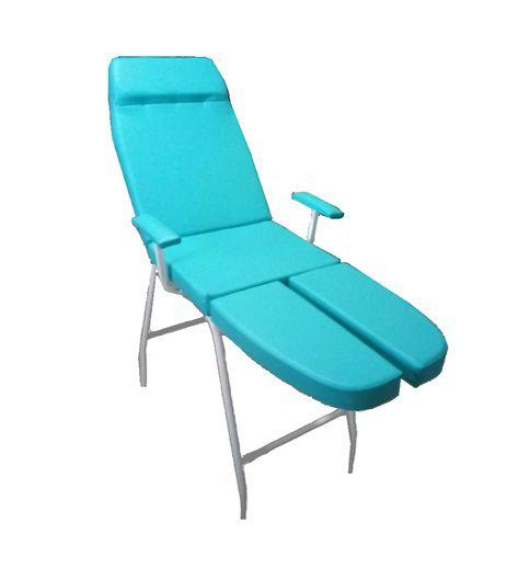 Kit Podologia Verde Cadeira Maca Mocho Exaustor Carrinho Brinde