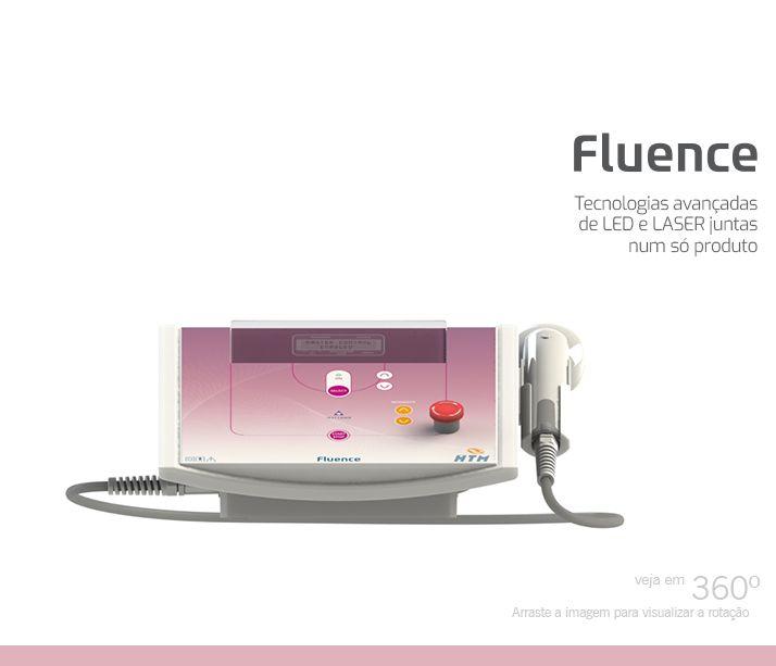 Laser Fluence HTM Podologia Estética e Capilar Blue Led e Laser 658nm Com 02 Óculos