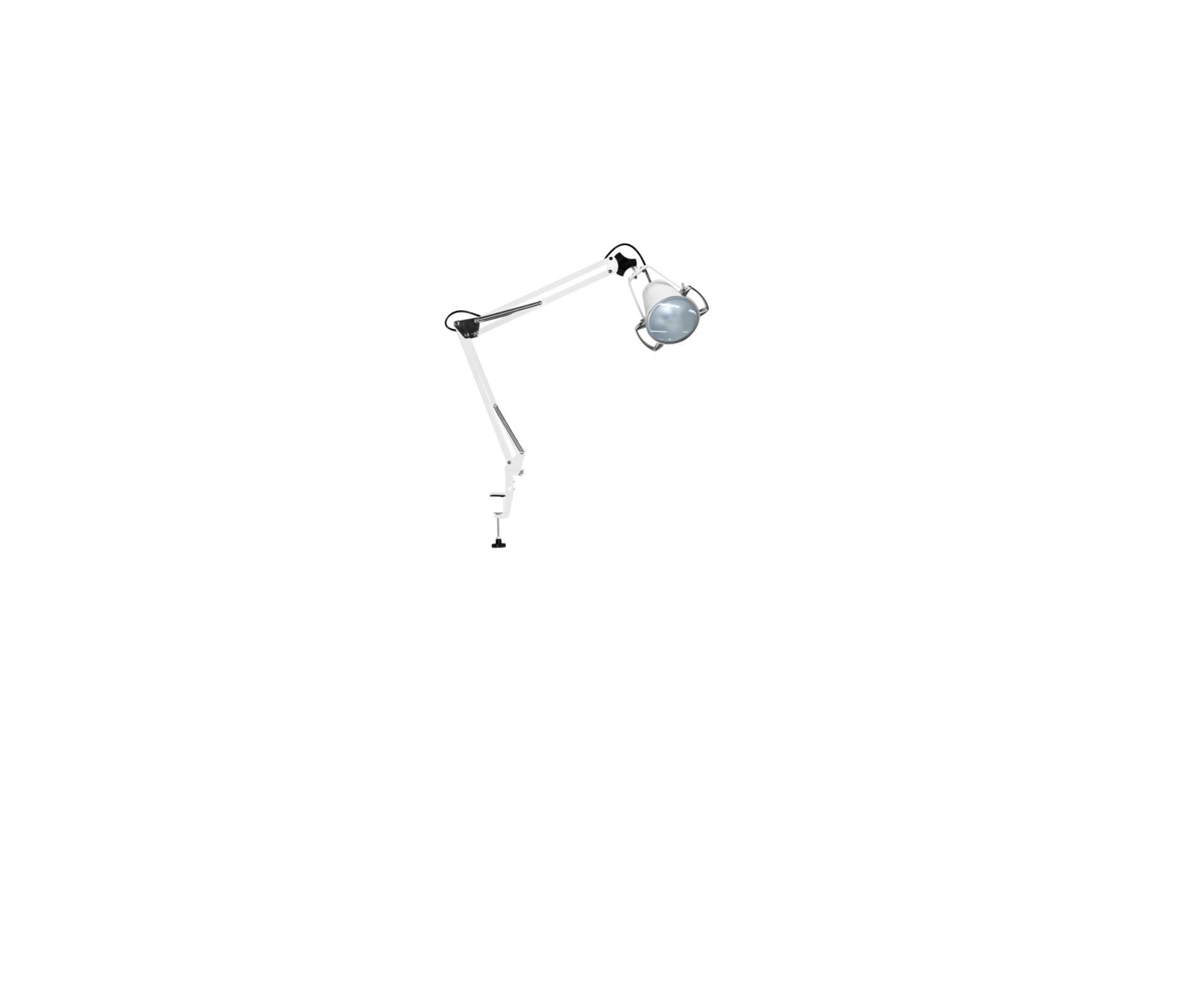 Luminária Com Foco De Luz Fria Concentrado De Led Apoio de Mesa