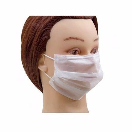 Máscara Descartável Não Tecido 100 Unidades