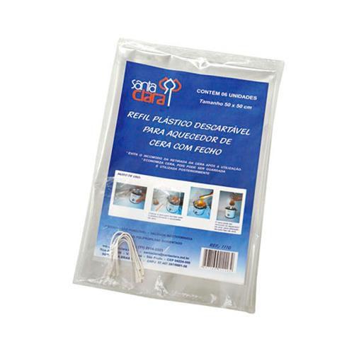 Refil Plástico para Aquecedor de Cera 50x50 cm