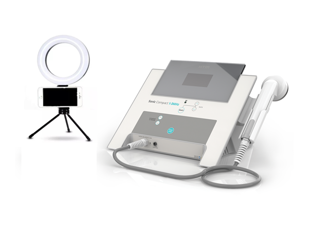 Ultra-Som Sonic Compact 1-3 MHz  Estética e Fisioterapia