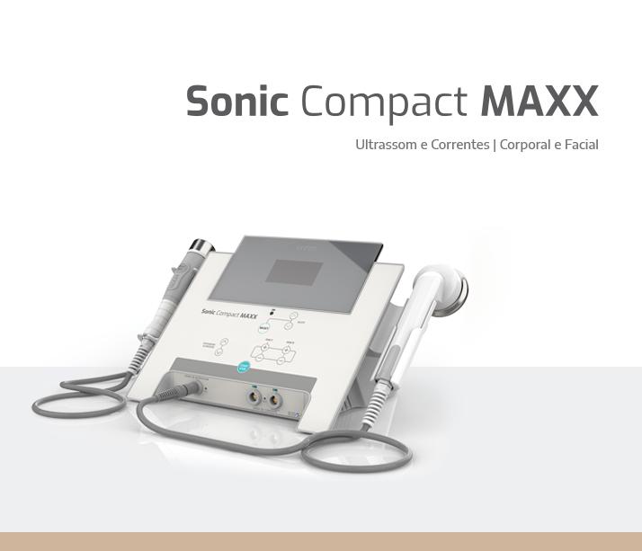 Ultrassom e Correntes Sonic Compact Maxx HTM
