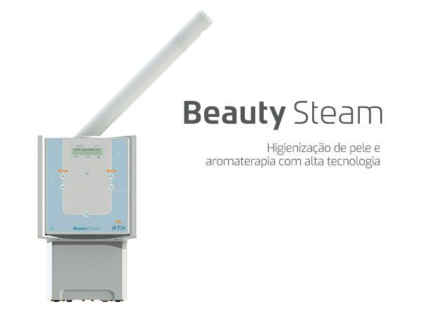 Vapor de Ozônio Beauty Steam HTM