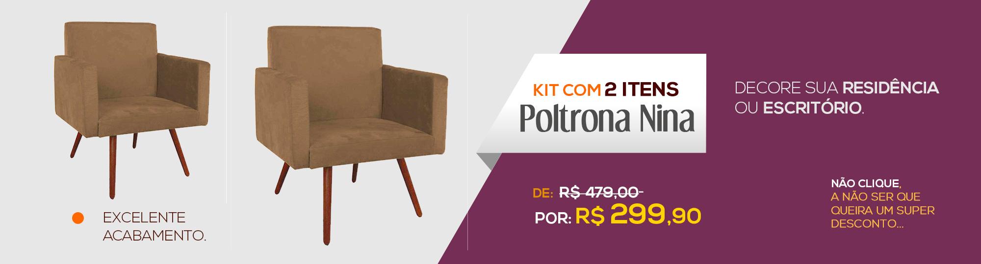 Kit Poltronas NIna