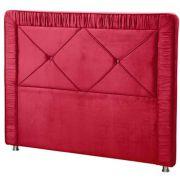 Cabeceira Athenas King 195 cm Vermelho Perfan Móveis