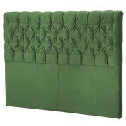 Cabeceira Florença Solteiro 90 cm Verde Perfan Móveis