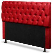 Cabeceira Paris Queen 160 cm Animale Vermelho