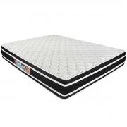 Colchão Casal Espuma Black White D33 1,38x1,88x0,27 Castor
