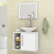 Conjunto para Banheiro Baden Branco Bechara Móveis
