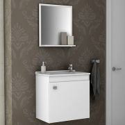 Conjunto para Banheiro Siena Branco Bechara
