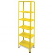 Estante Multimix Amarelo Metalmix