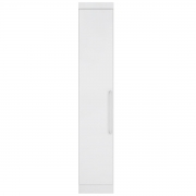Guarda-Roupa Módena 1 Porta Branco Demóbile Móveis