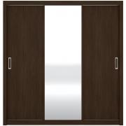 Guarda-Roupa Residence 3 Portas de Correr Ébano Touch