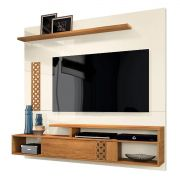 Home Suspenso Bless New Off White/Coral Frade Tv até 65'