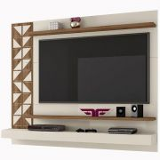 Home Suspenso Mosaic Off White/Canela Frade Tv até 60'