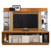 Home Theater Frizz Gold Madetec Naturale/Off White p/ Tv 55