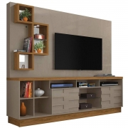 Home Theater Heitor Casa Chick Fendi/Naturale Tv de até 65