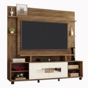 Home Theater Orion New Canela/Off White Frade Tv até 60'