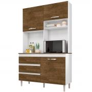 Kit de Cozinha Smart Branco/Malbec Incorplac