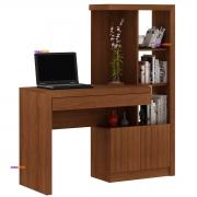 Mesa para Escritório ME4143 2 Portas Amêndoa Casa Chick