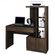Mesa para Escritório ME4143 2 Portas Rústico Casa Chick