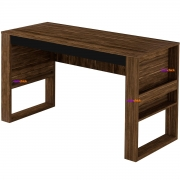 Mesa para Escritório ME4146 Nogal/Preto Casa Chick