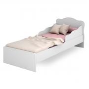 Mini-Cama Juvenil Doce Sonho com Proteção Lateral Branco