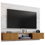 Painel Âmbar Carrara/Cinamomo/Ripado para Tv Até 65