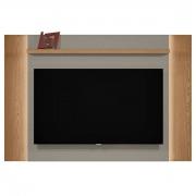 Painel Extensível Aurora Amêndoa/Titânio Linea Tv Até 60