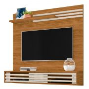 Painel P/ TV 55'' Suspenso Frizz Sublime Naturale/Off White