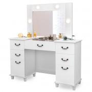 Penteadeira Camarim Branca com Usb e Espelho Seul Luapa