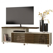 Rack Frizz Off White/Savana Casa Chick P/ TV até 65