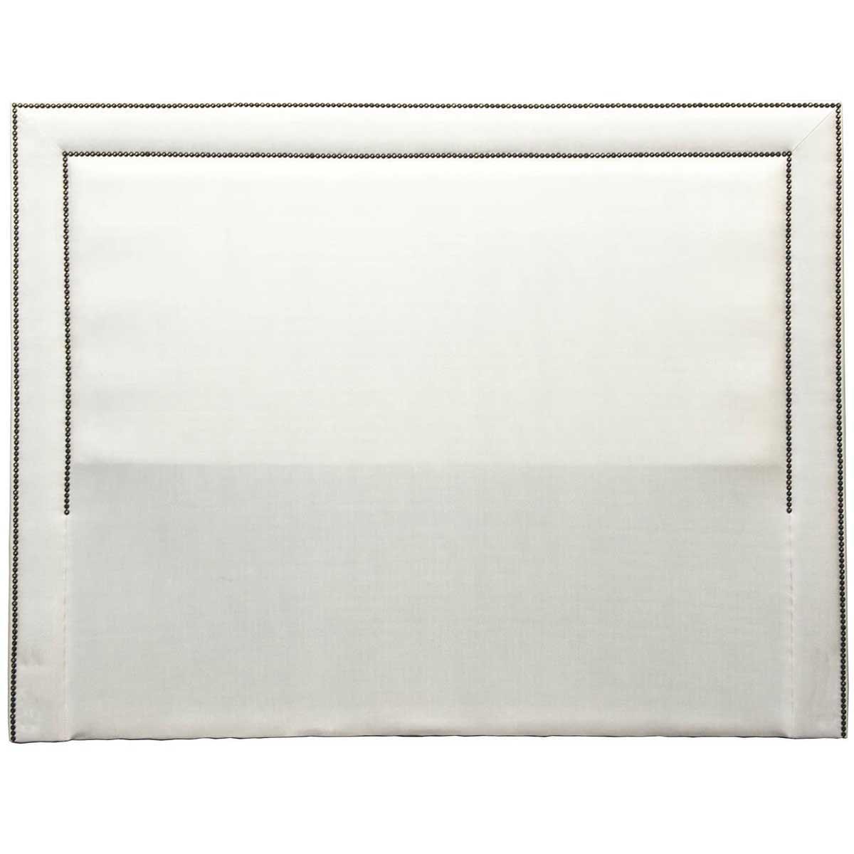 Cabeceira Lima Queen 160 cm Corino Branco Perfan Móveis