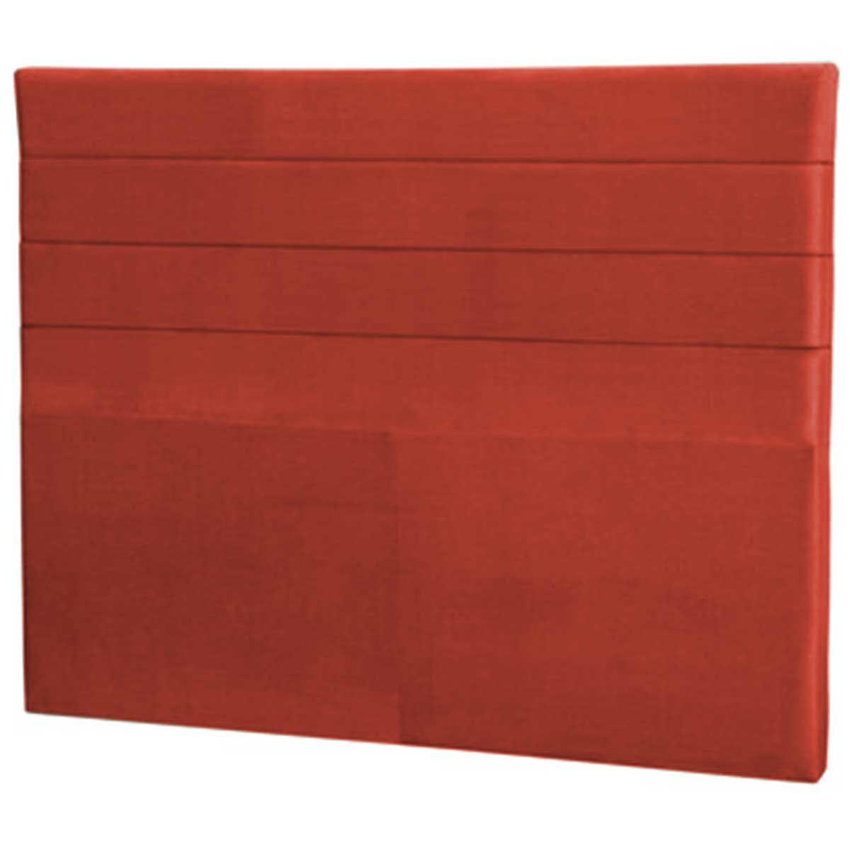 Cabeceira Lisboa Casal 140 cm Vermelho Perfan Móveis
