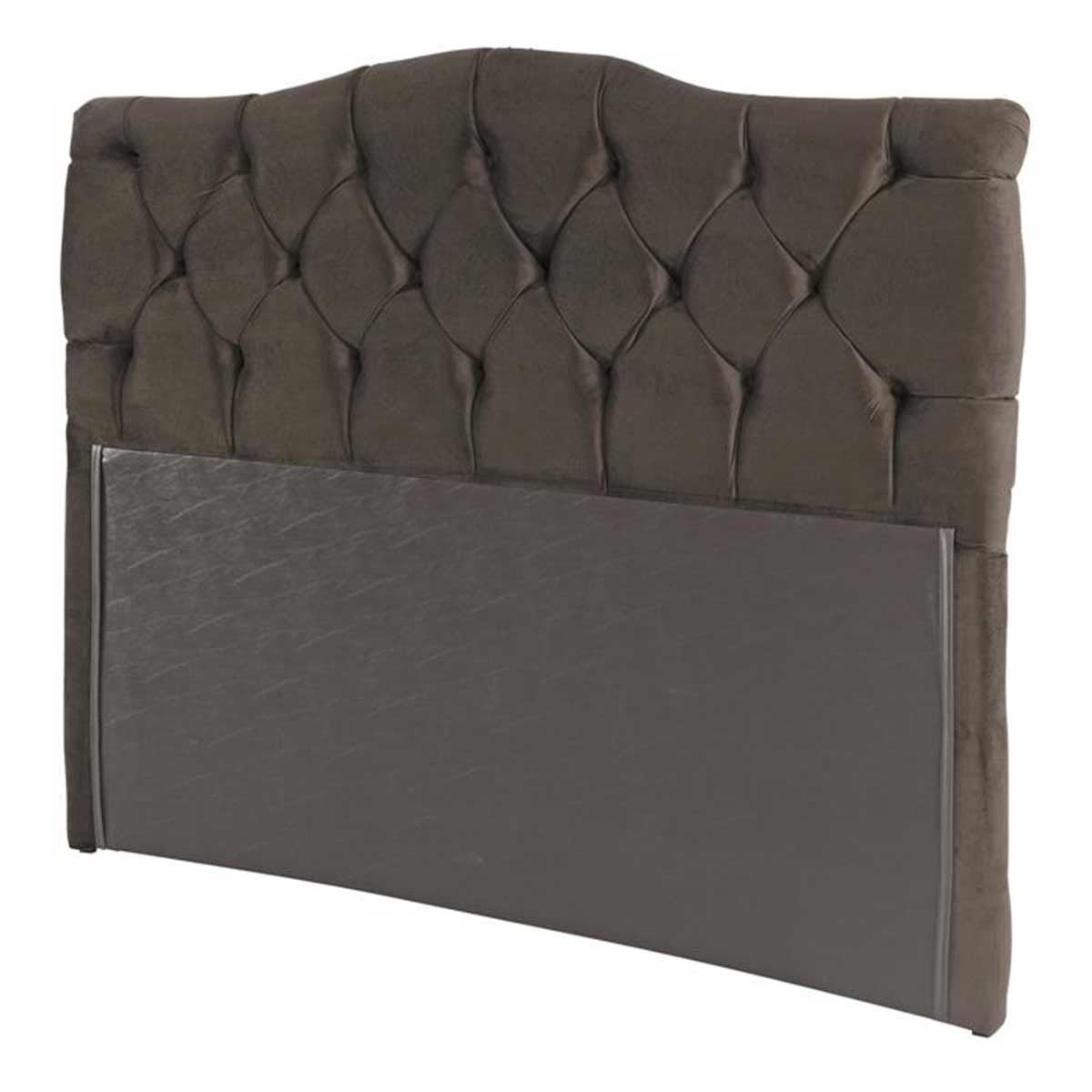 Cabeceira Luxury Queen 160 cm Animale Chocolate Simbal