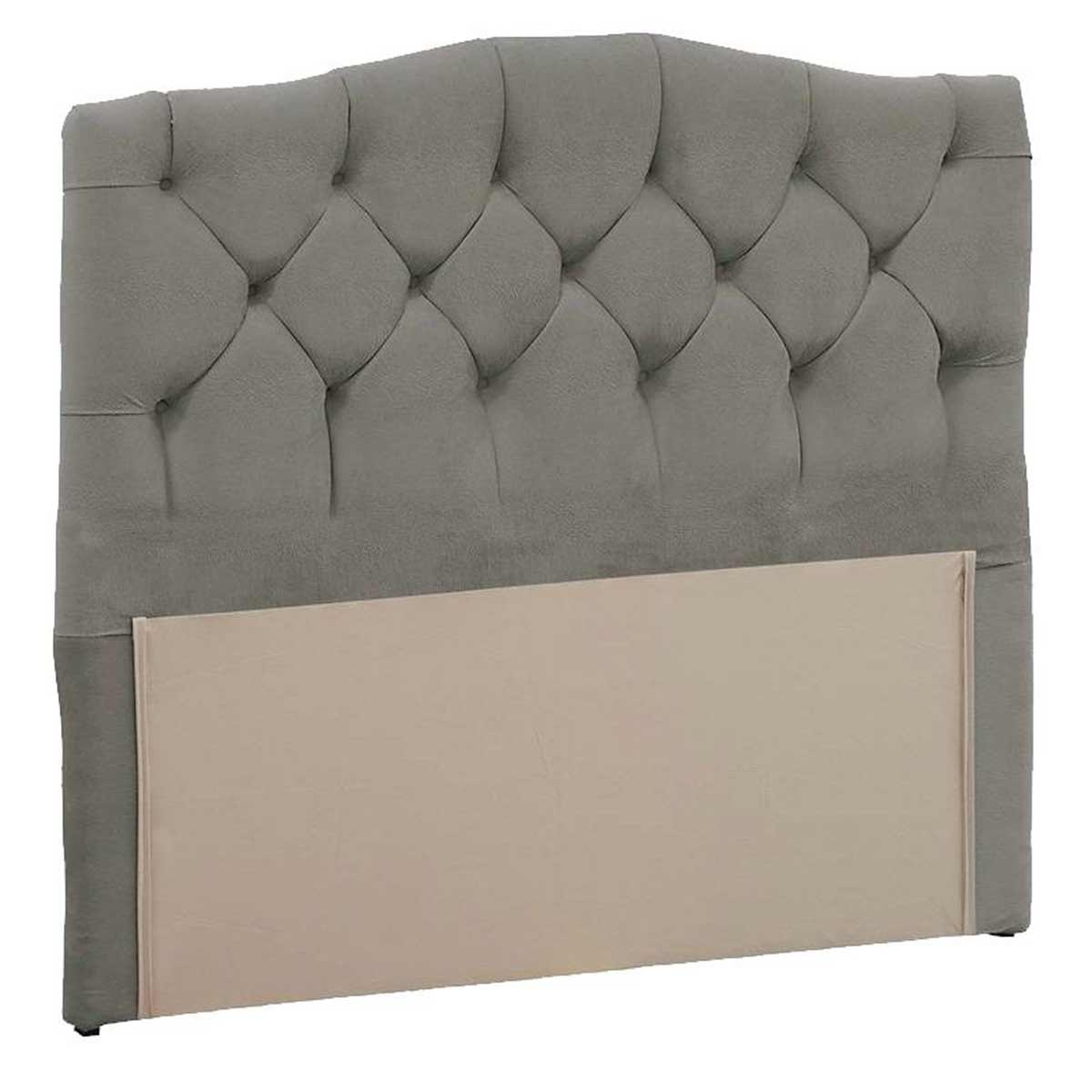 Cabeceira Luxury Queen 160 cm Animale Cinza Simbal