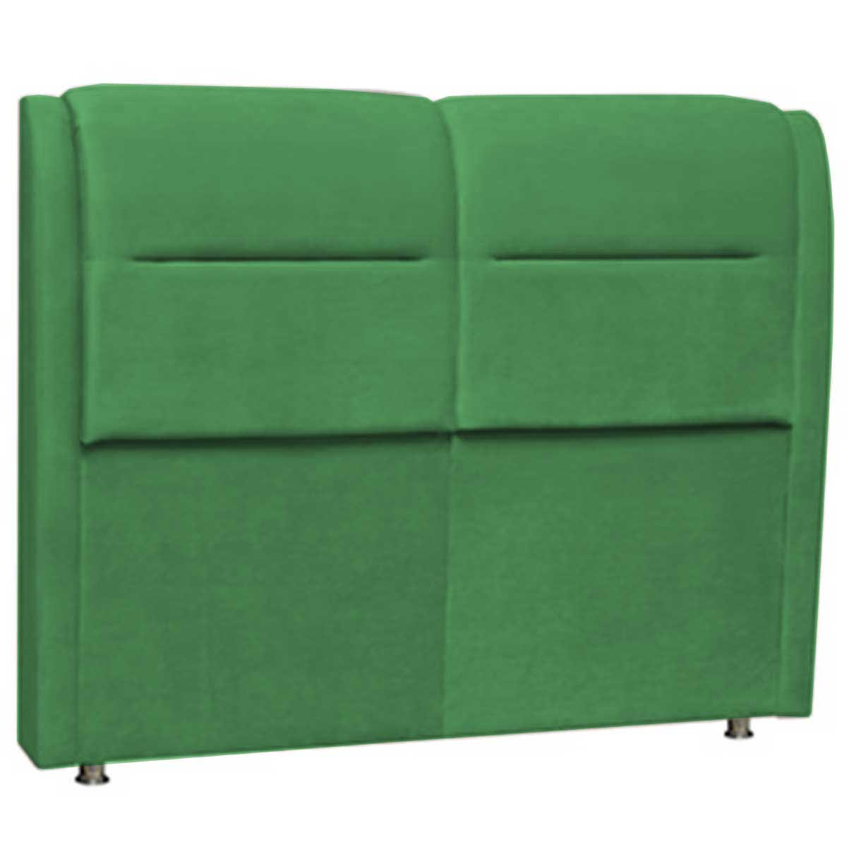 Cabeceira Verona Casal 140 cm Verde Perfan Móveis
