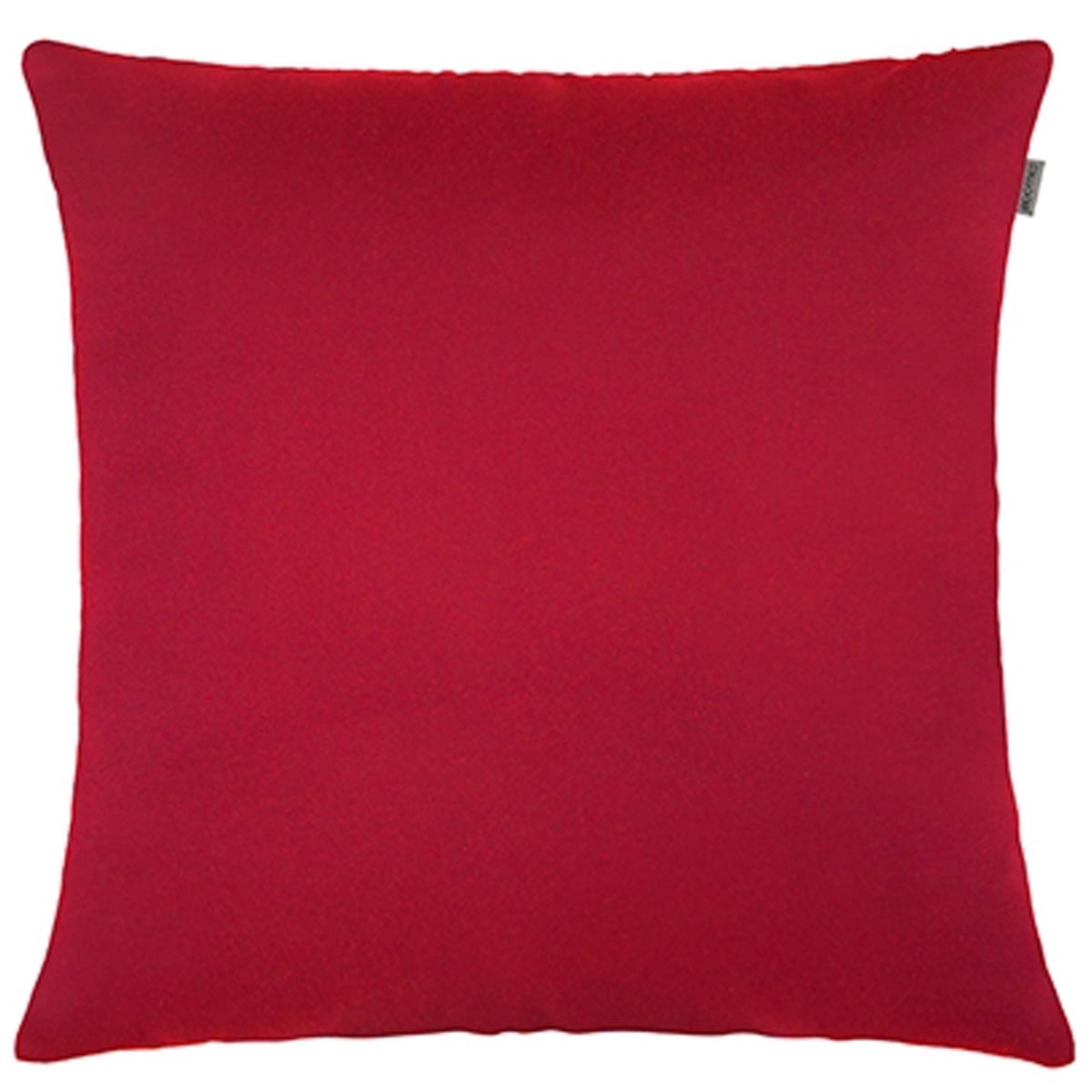 Capa P/ Almofada Jacquard Liso 45cm X 45cm Vermelho Adomes