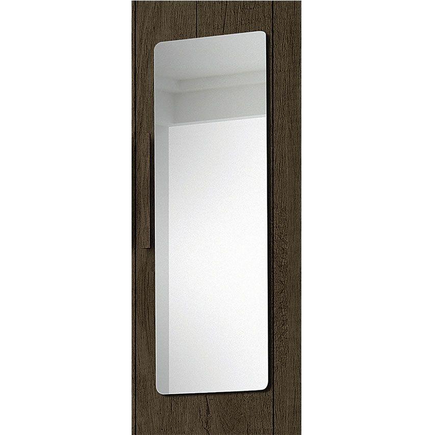 Guarda-Roupa Casal Madrid Plus 6 Portas c/ Espelho Jacarandá