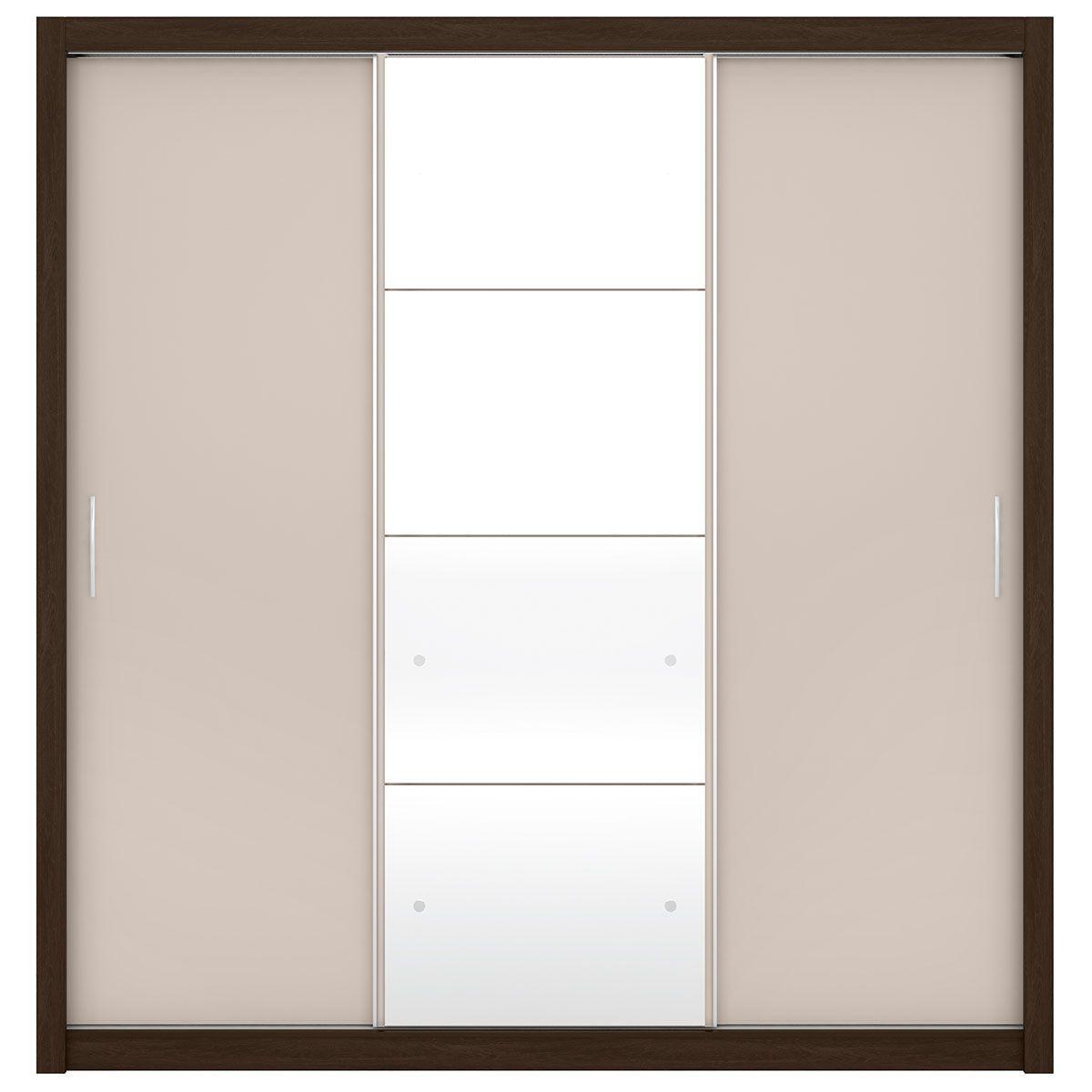 Guarda-Roupa Residence II 3 Portas de Correr Ébano Touch