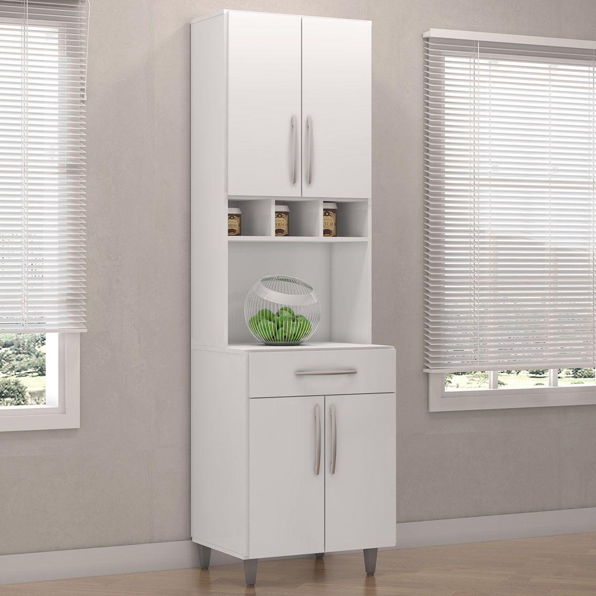 Paneleiro de Cozinha Duplo Laura Branco AJL
