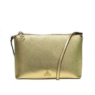 Bolsa Tiracolo Dourada