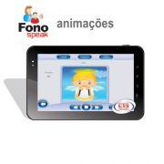 App FonoSpeak - Treinamento dos Fonemas - Animações