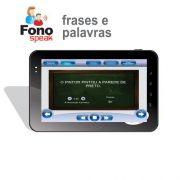 App FonoSpeak - Treinamento dos Fonemas - Frases e Palavras
