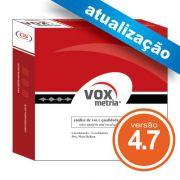 Atualização VoxMetria 4.7